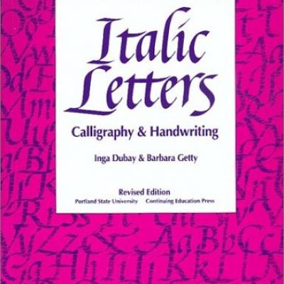 Italic Letters Cover